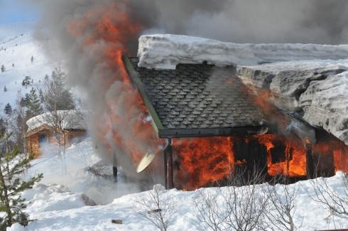 Mangler røykvarlser på hytta